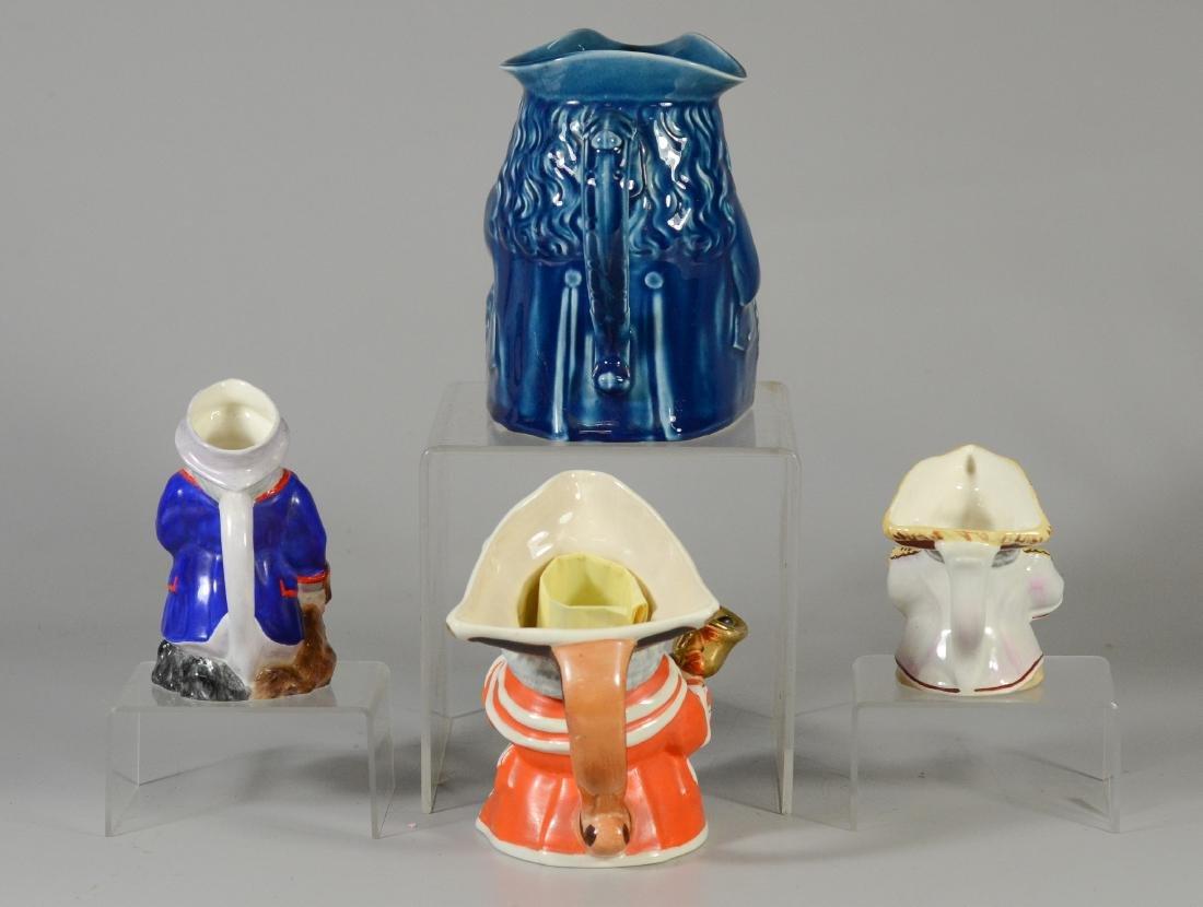 4 Wedgwood toby jugs - 4