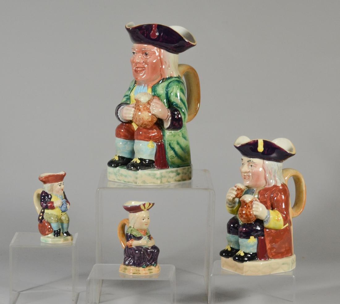 4 Beswick toby jugs