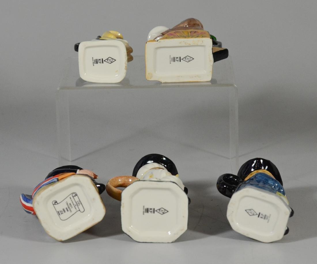 5 Kevin Francis Ceramics toby jugs - 3
