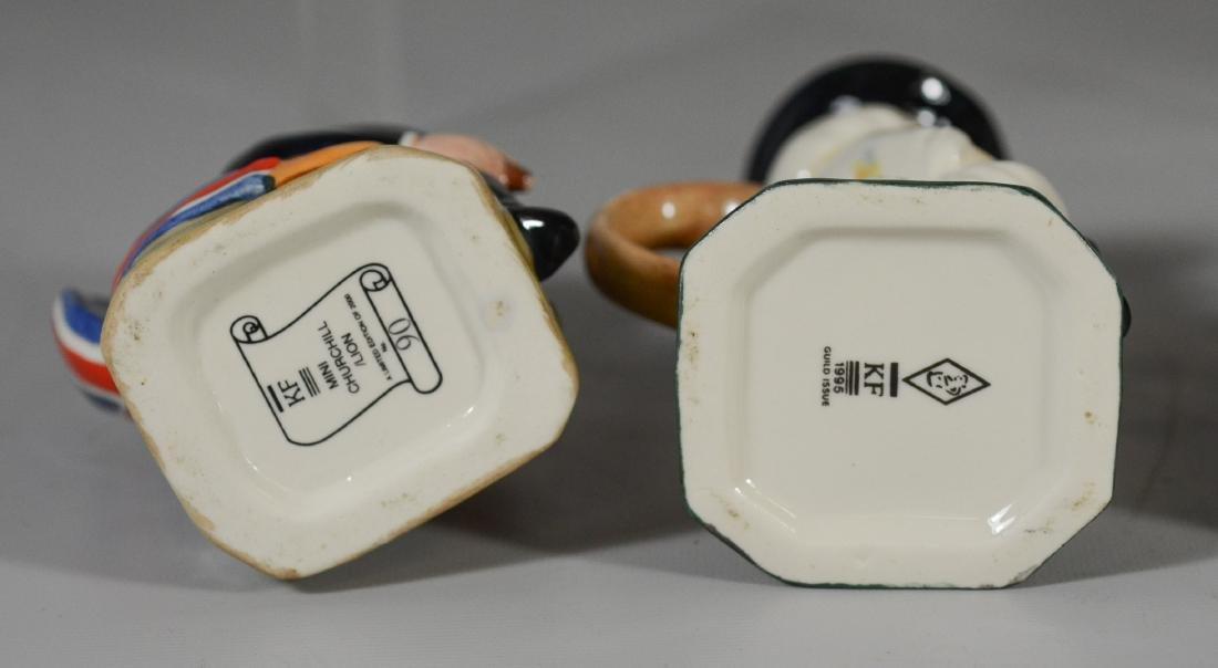 5 Kevin Francis Ceramics toby jugs - 4
