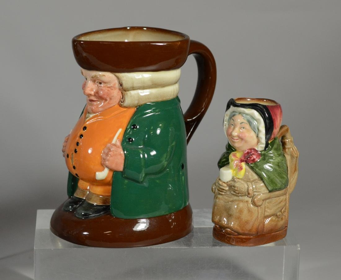 7 Royal Doulton toby jugs - 5