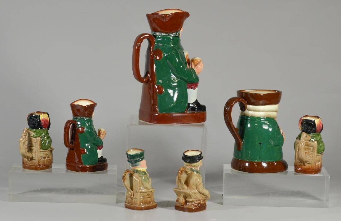 7 Royal Doulton toby jugs - 6