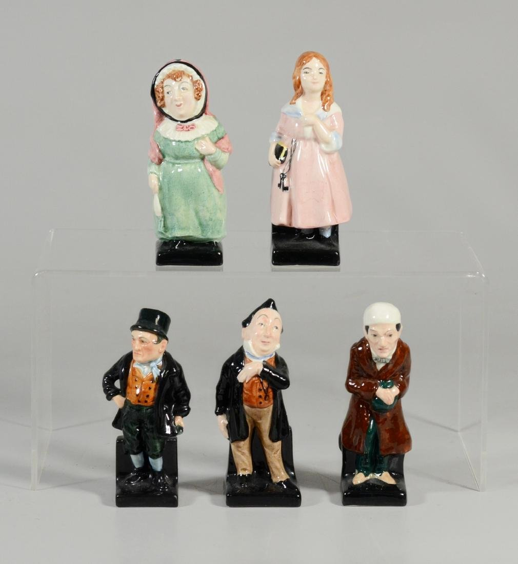 5 Royal Doulton Dickens figurines