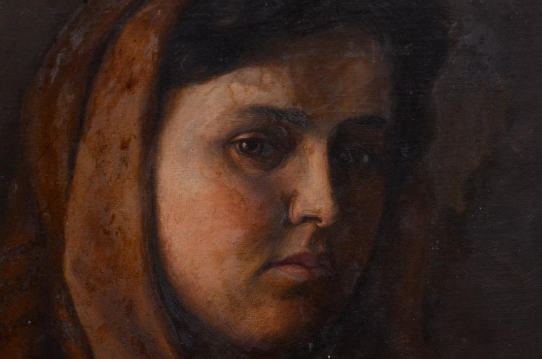 Theresa Ferber Bernstein Portrait as an Immigrant - 11