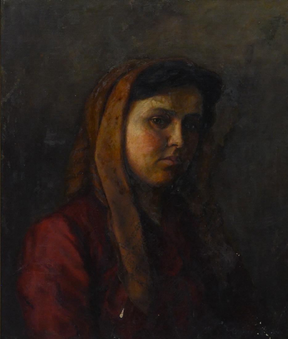Theresa Ferber Bernstein Portrait as an Immigrant