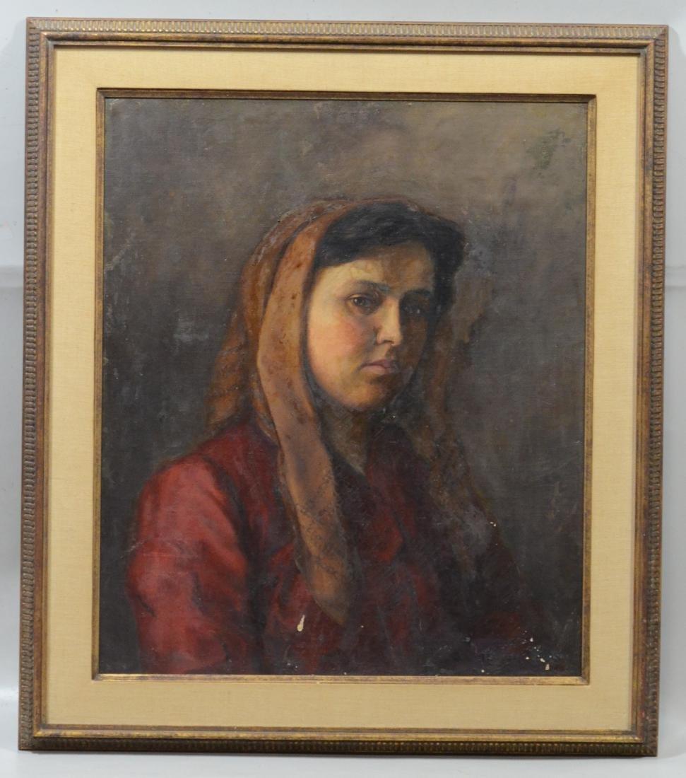 Theresa Ferber Bernstein Portrait as an Immigrant - 2
