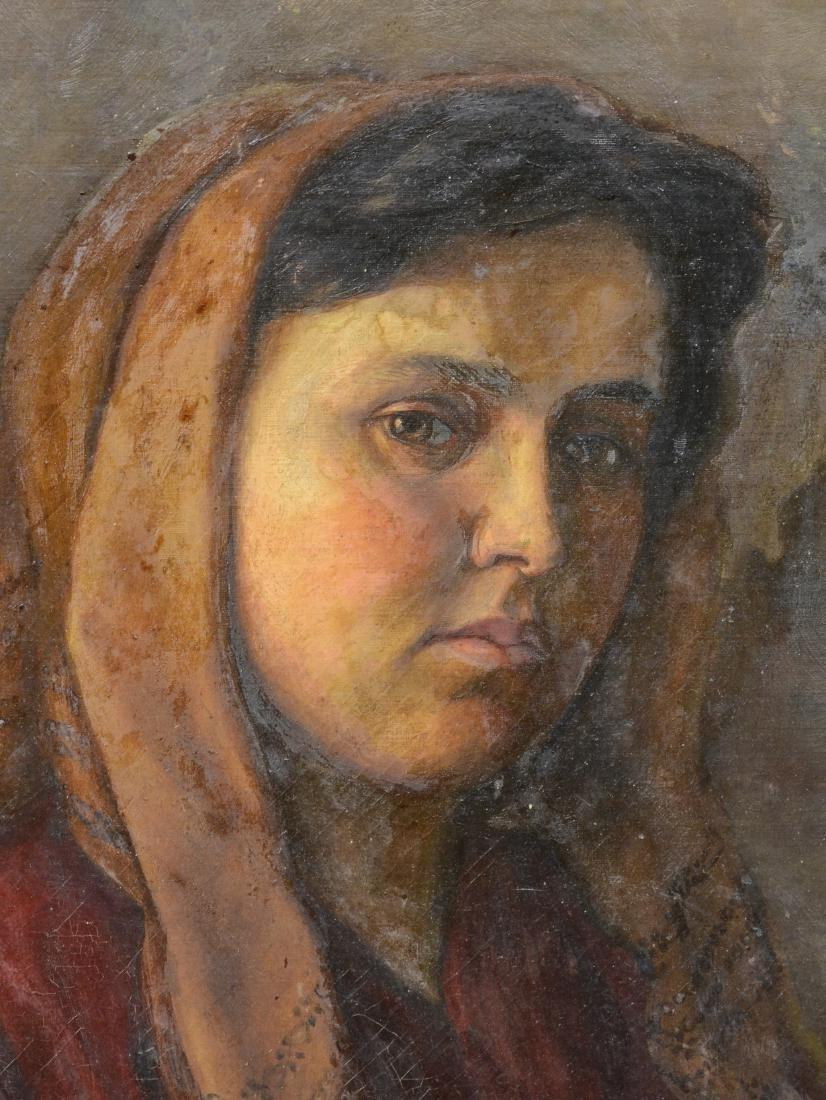 Theresa Ferber Bernstein Portrait as an Immigrant - 3