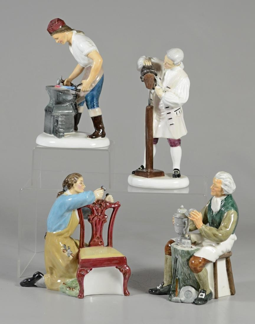 4 Royal Doulton Figurines