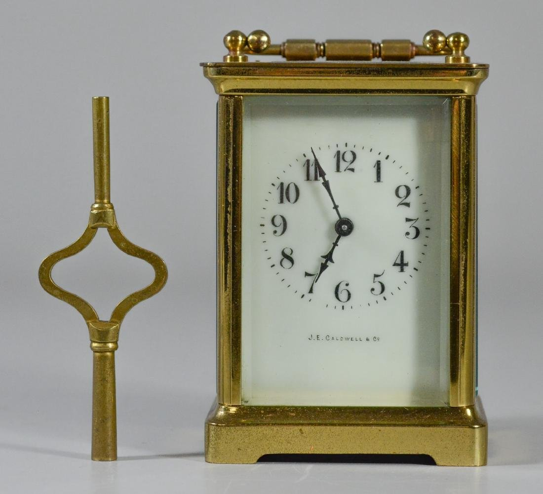 JE Caldwell French carriage clock