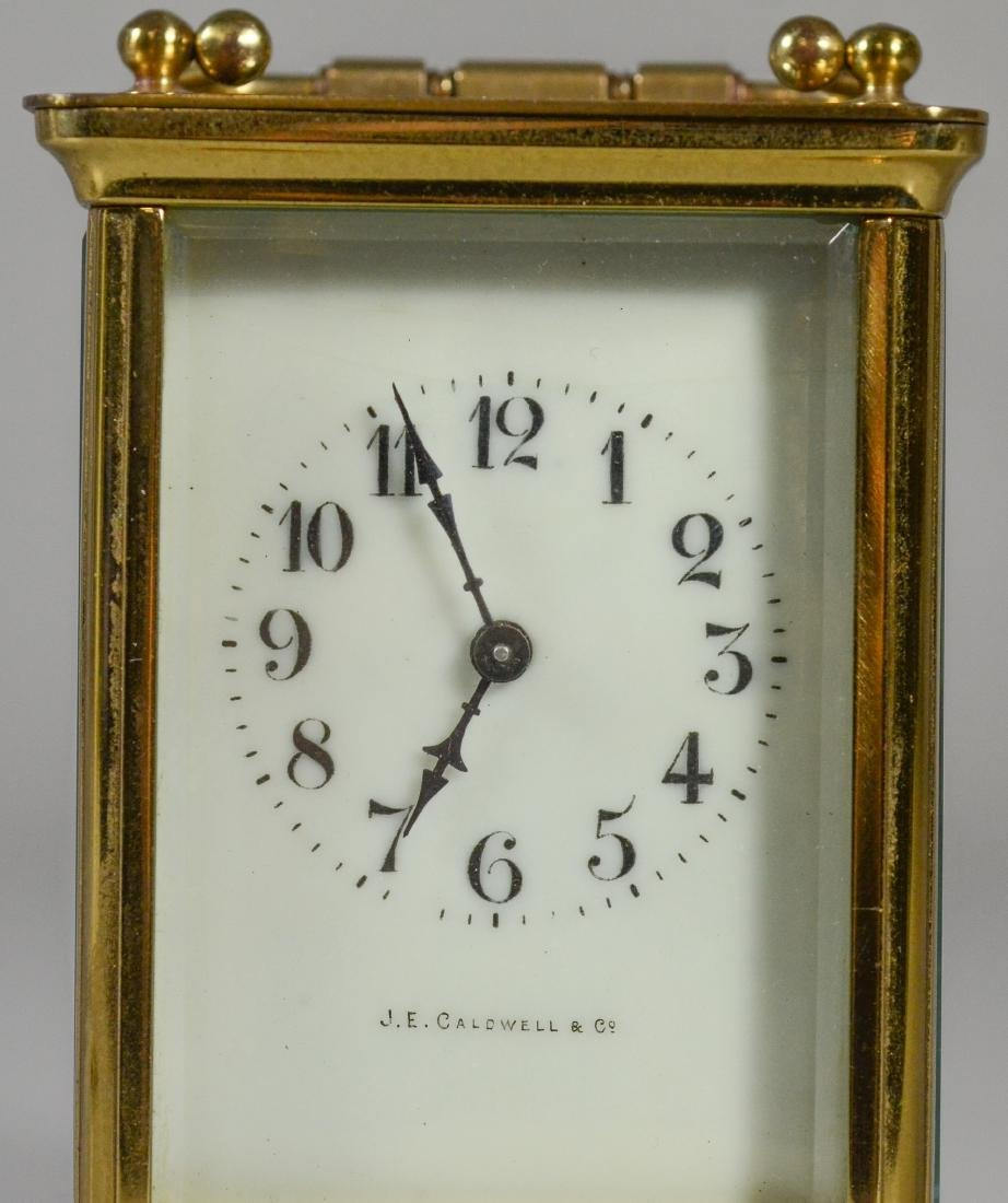 JE Caldwell French carriage clock - 6