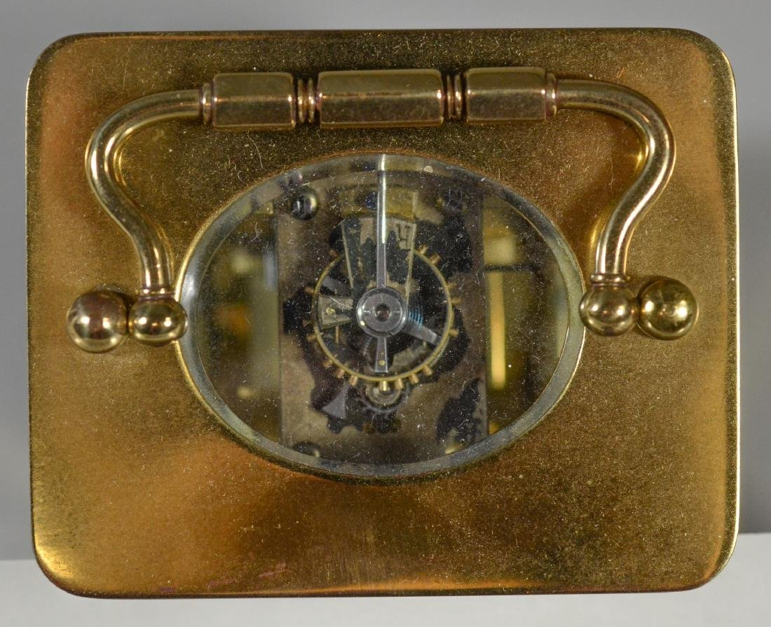 JE Caldwell French carriage clock - 7