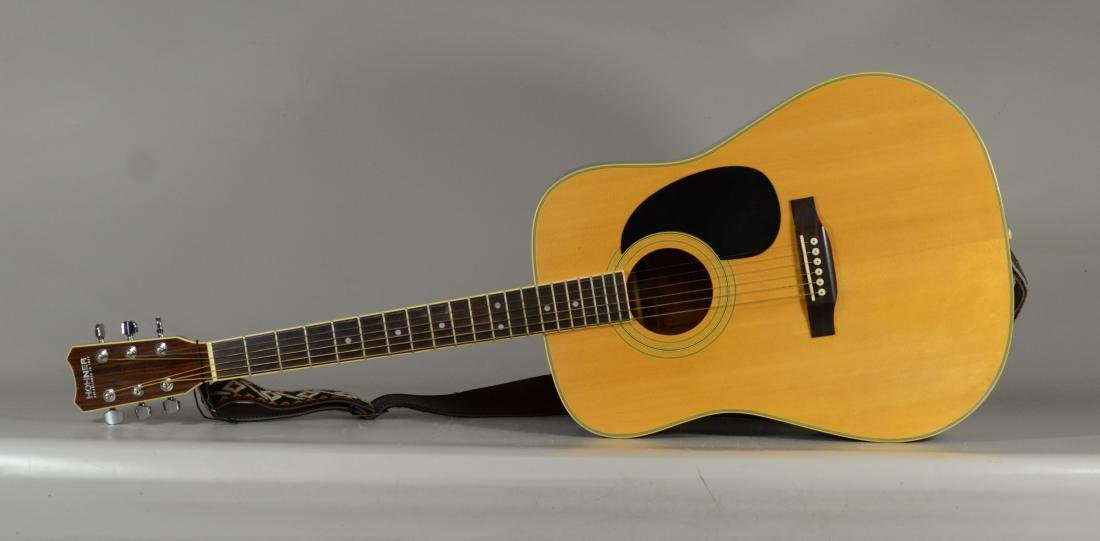 Hohner HW720S acoustic guitar, with hardshell case - 3