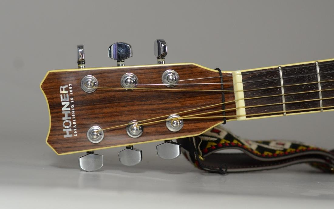 Hohner HW720S acoustic guitar, with hardshell case - 4