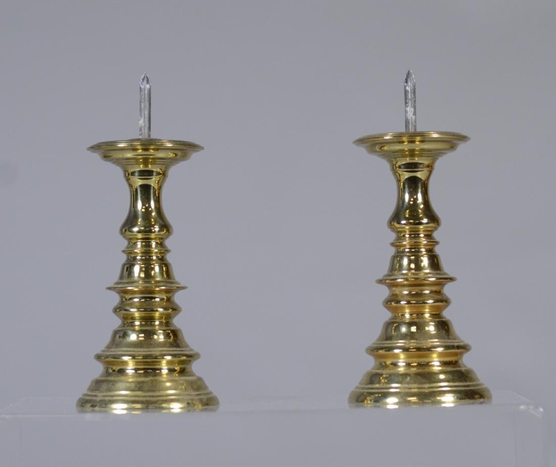 11 Colonial Williamsburg Brass Candlesticks - 6