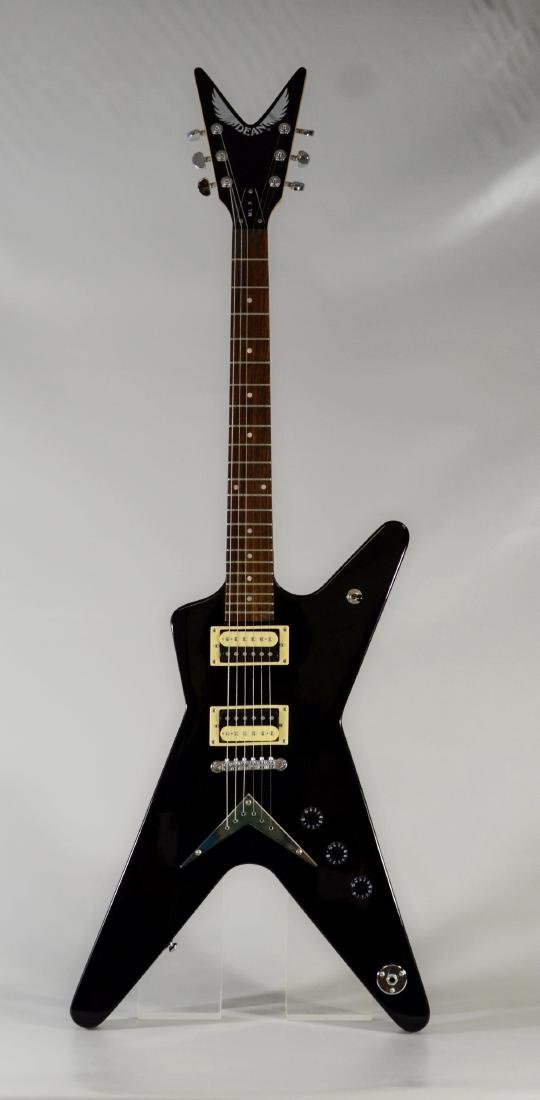 Dean Electric guitar, model MLX, with hardshell case