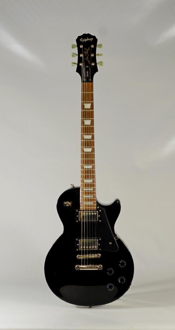 Epiphone Les Paul Studio model black electric guitar