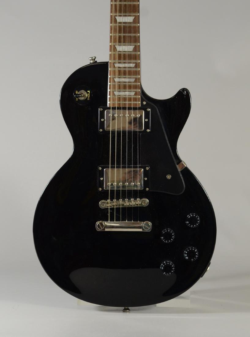 Epiphone Les Paul Studio model black electric guitar - 2