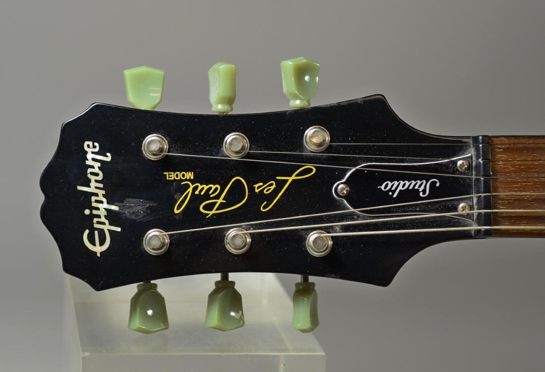 Epiphone Les Paul Studio model black electric guitar - 3