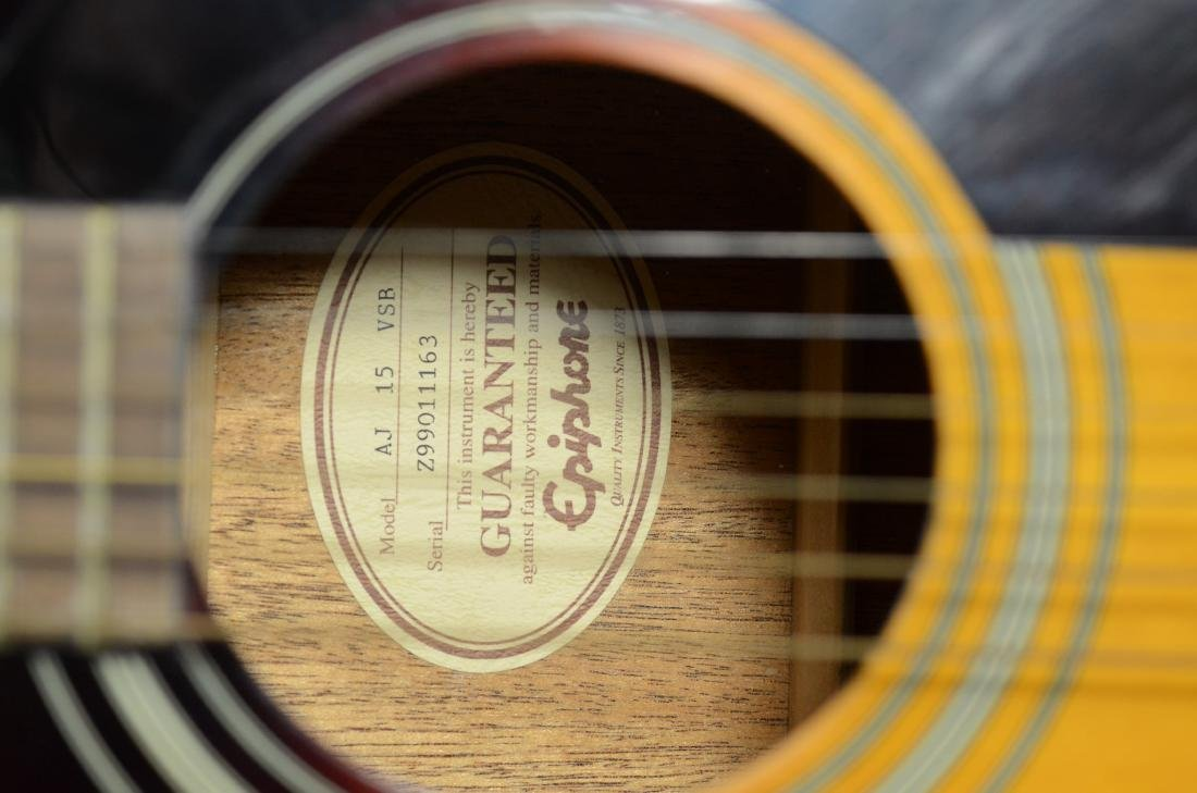 Epiphone AJ15ESB (Gibson) Acoustic 6-string guitar, - 4