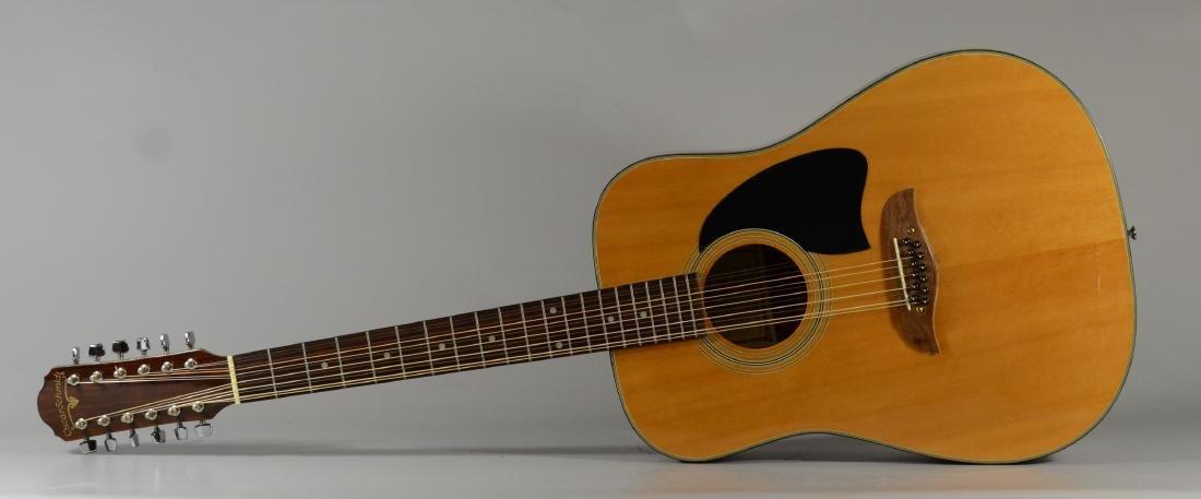 Oscar Schmidt acoustic 12-string guitar