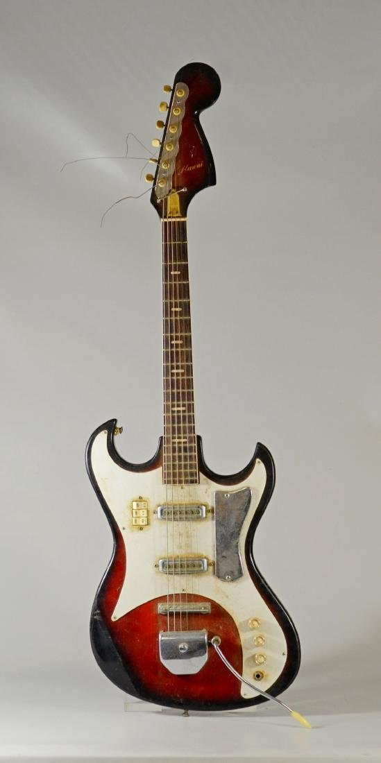 Kawai (Japan) electric guitar, model SD2W, late 1960