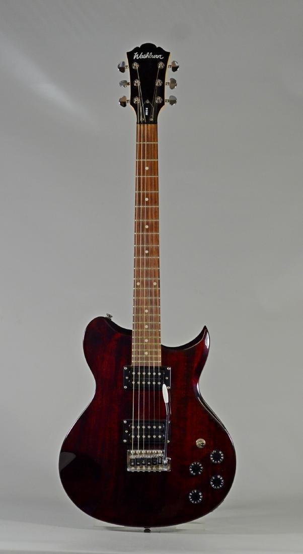 Washburn W114 electric guitar & gig bag