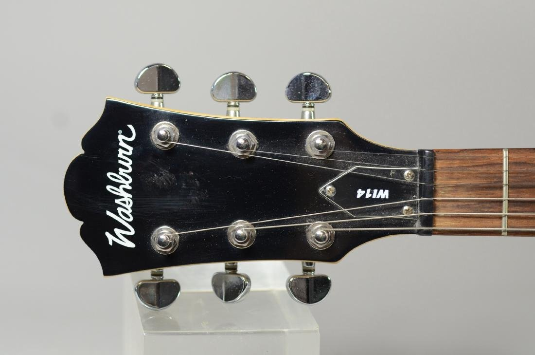 Washburn W114 electric guitar & gig bag - 3