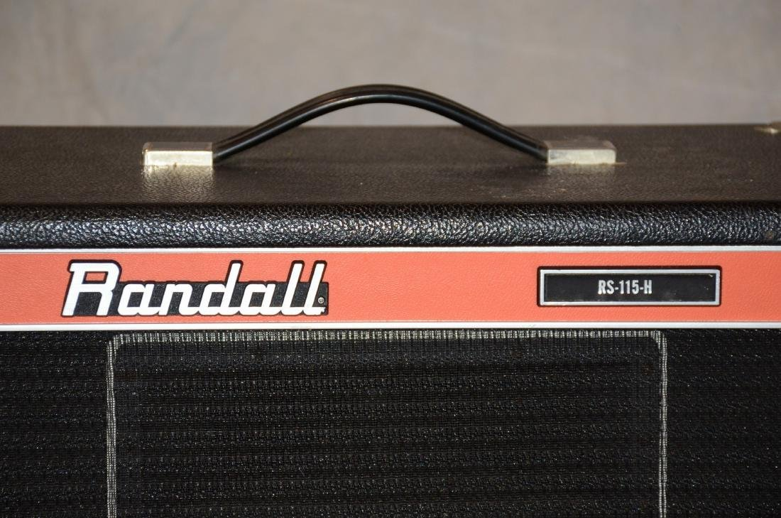Pr RS115H Randall sealed-back speaker cabinets - 2