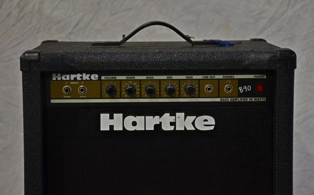 Hartke B90 Bass amplifier, in good working condition - 2