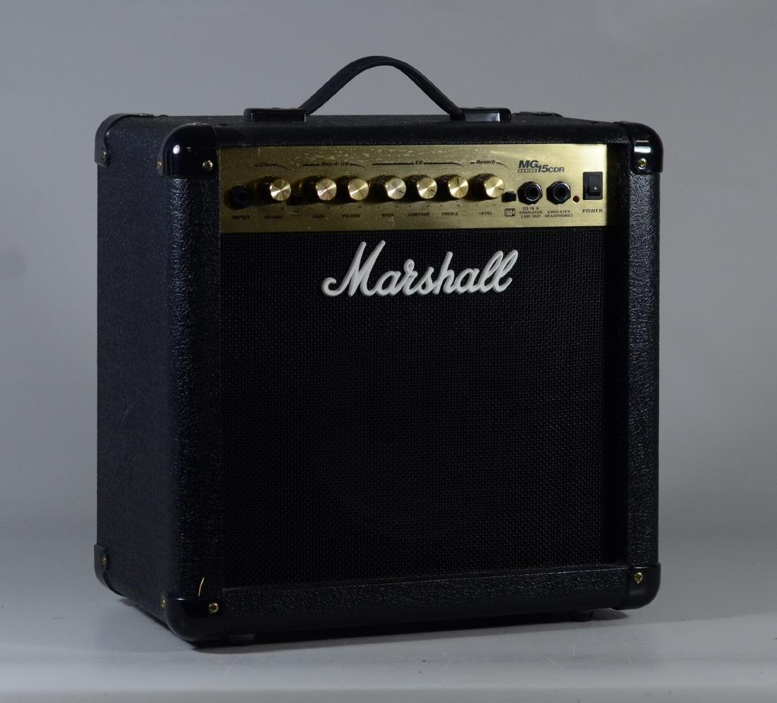 Marshall MG15CDR amplifier, good working condition