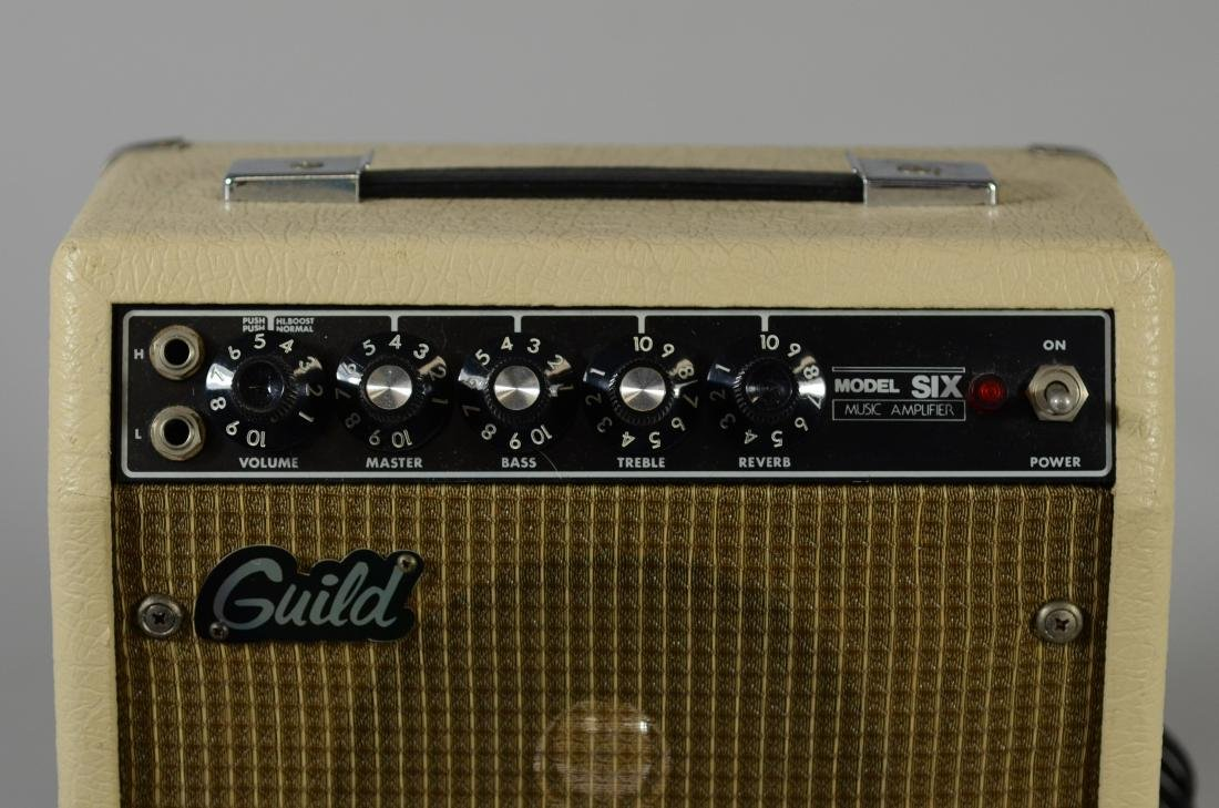 Guild Model 6 guitar amplifier - 3