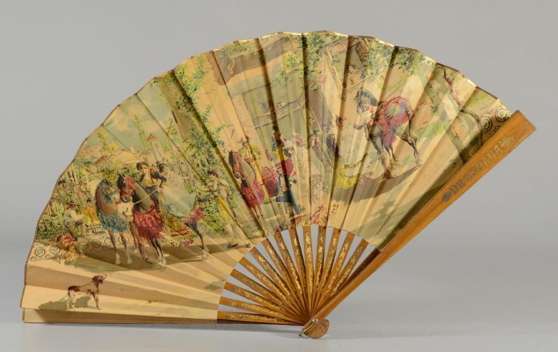 (5) Spanish Souvenir Fans - 3