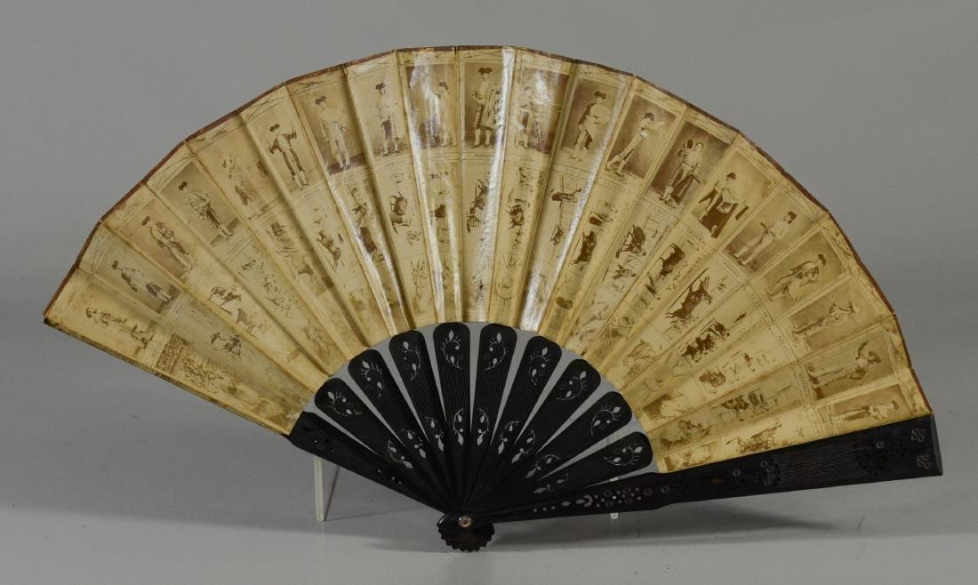 (5) Spanish Souvenir Fans - 4