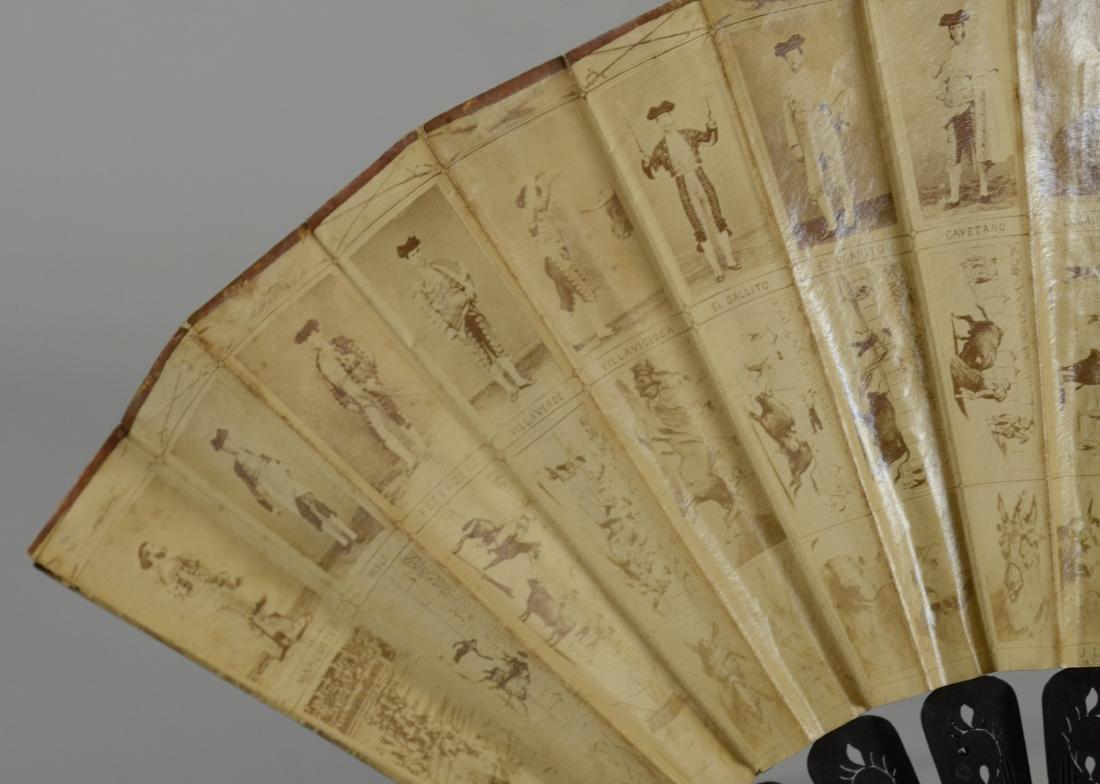 (5) Spanish Souvenir Fans - 6