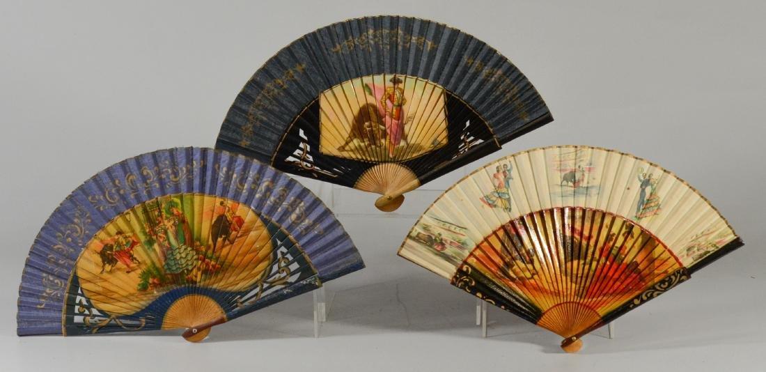 (5) Spanish Souvenir Fans - 8