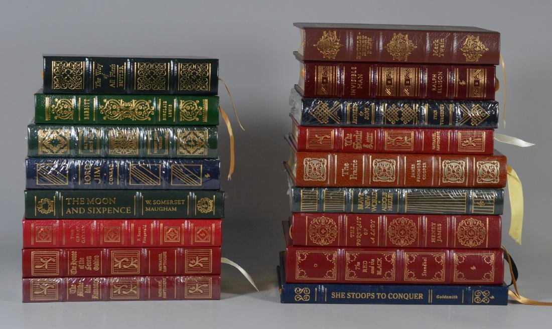 (17) Easton Press Collector's Editions