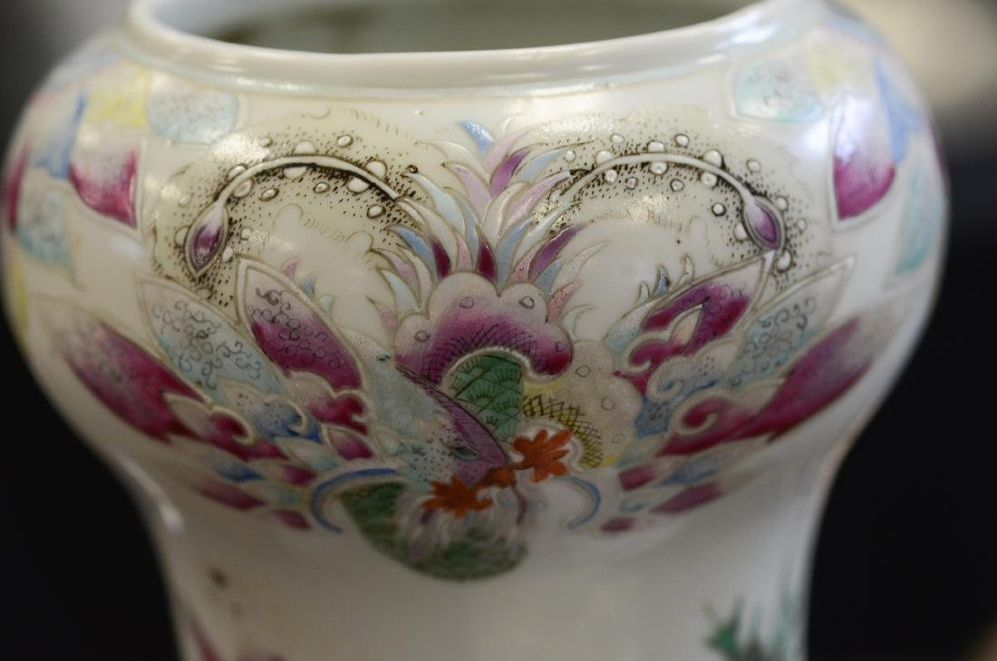 Chinese porcelain vase with figures and children - 6
