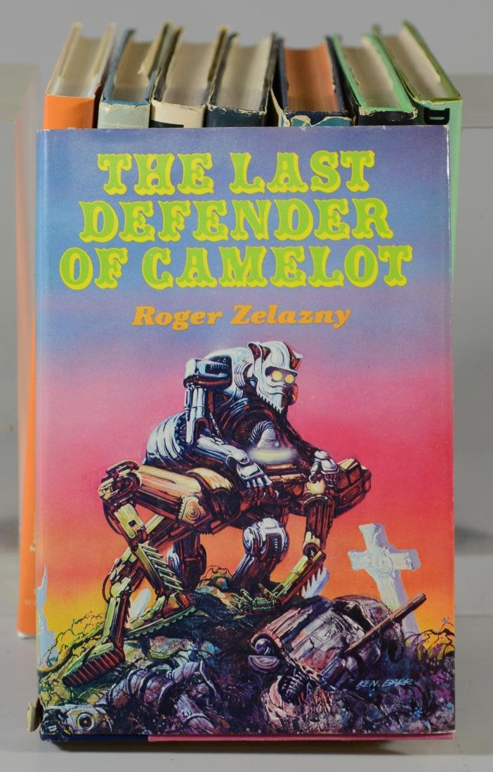 (8) Roger Zelazny science fiction novels - 2
