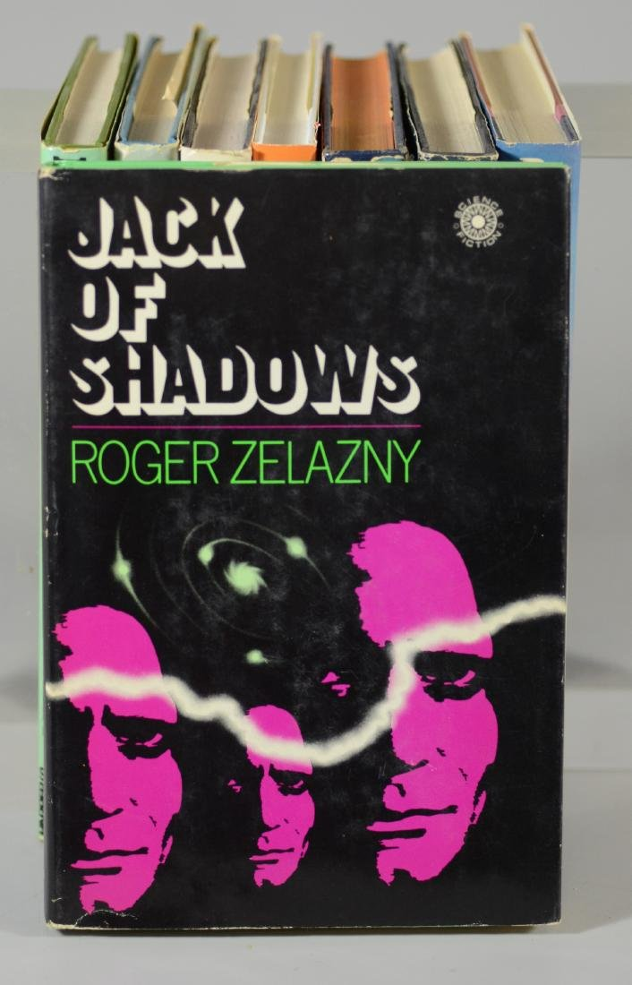 (8) Roger Zelazny science fiction novels - 4