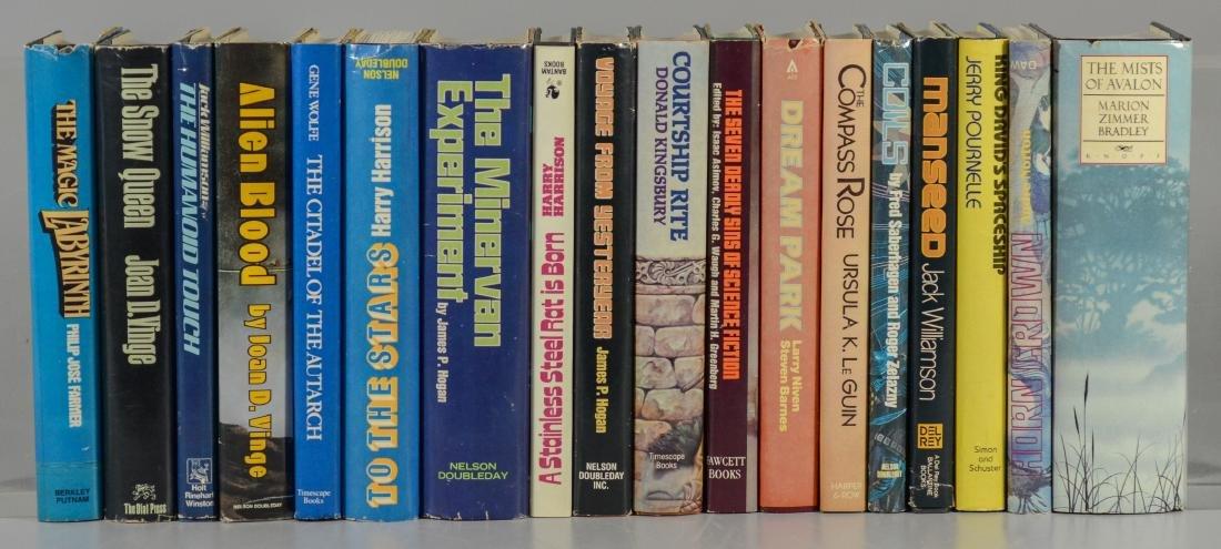 (18) Science fiction novels, all BCE/BOMC