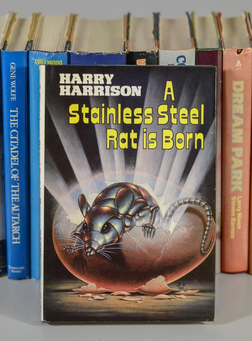 (18) Science fiction novels, all BCE/BOMC - 4