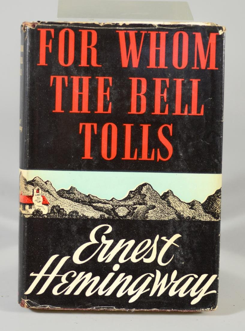 "Ernest Hemingway ""For Whom the Bell Tolls"", BCE/BOMC"