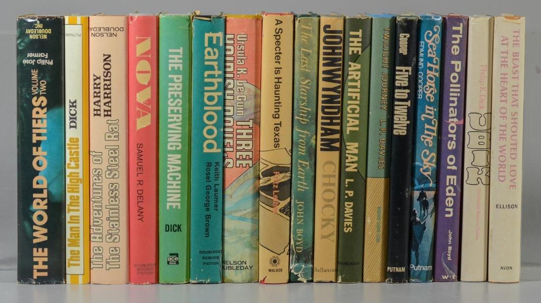 (17) Science fiction novels, all BCE/BOMC