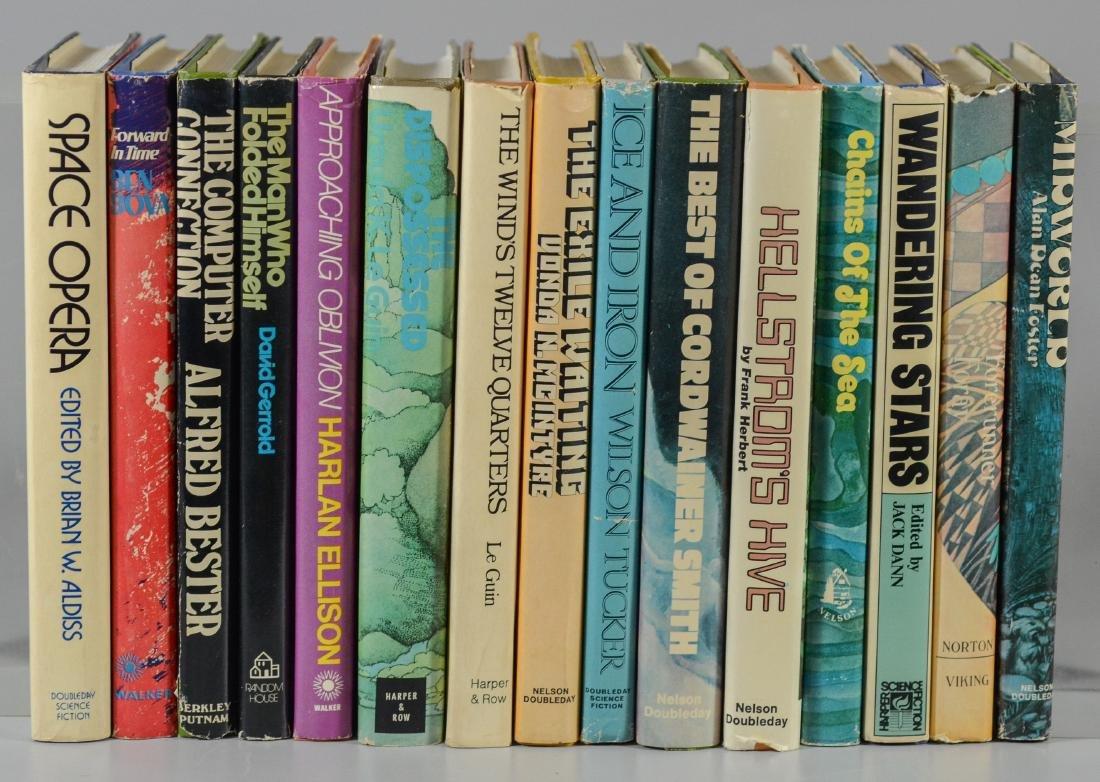 15 Science fiction novels, all BCE/BOMC