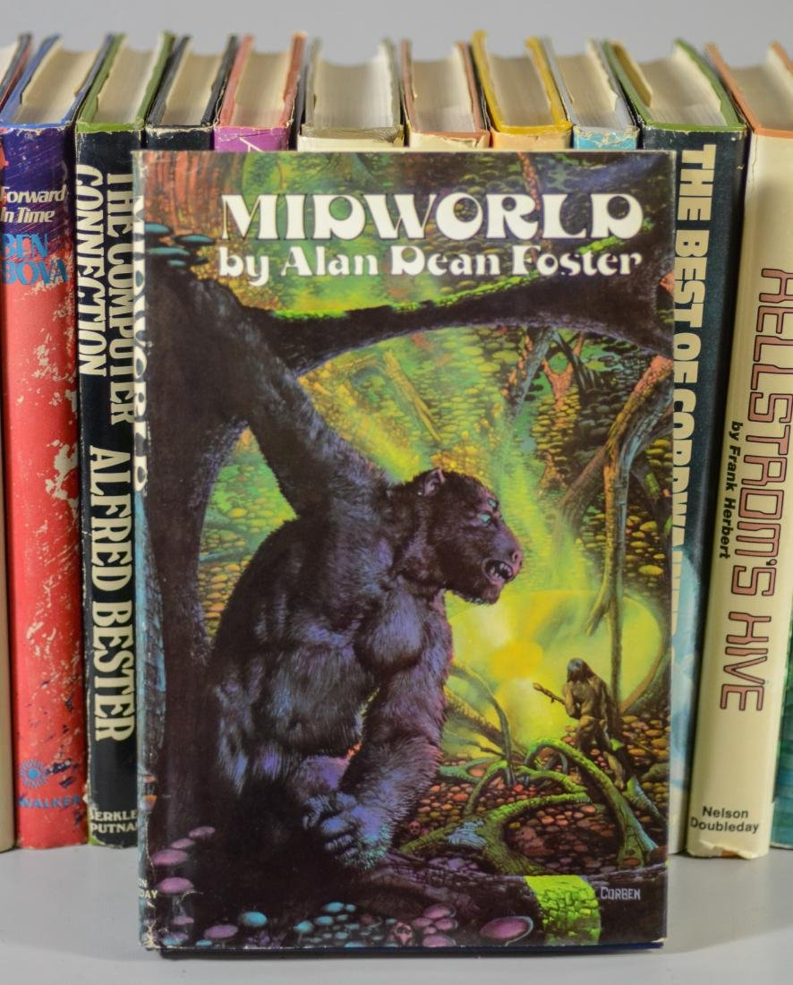 15 Science fiction novels, all BCE/BOMC - 2