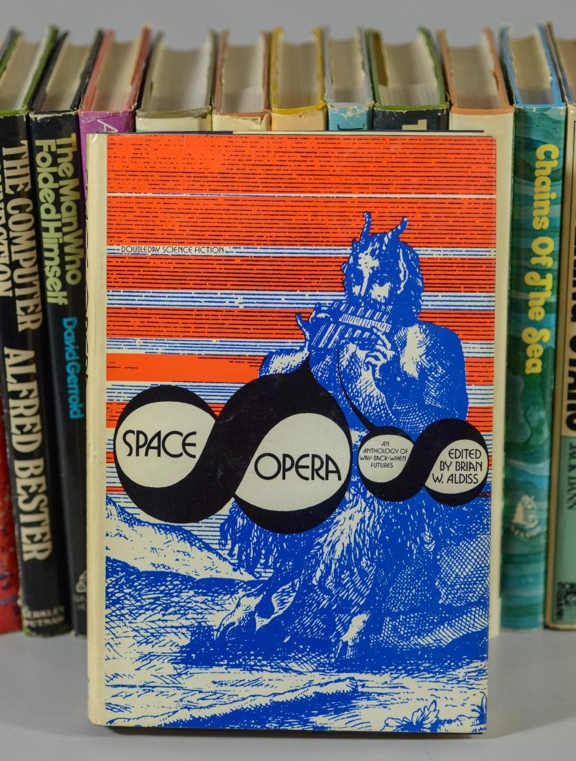 15 Science fiction novels, all BCE/BOMC - 4