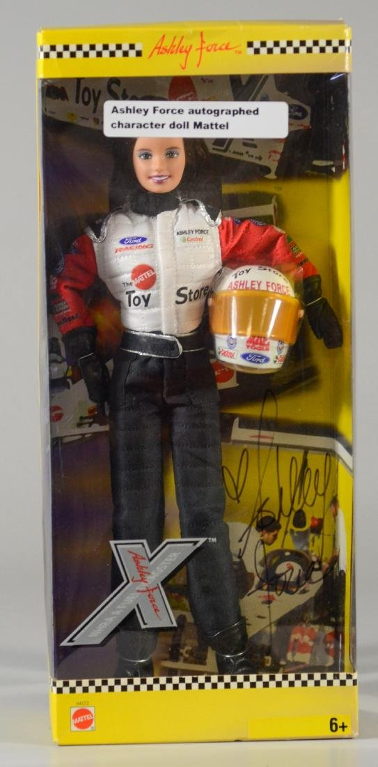 Autographed Ashley Force Mattel Character doll