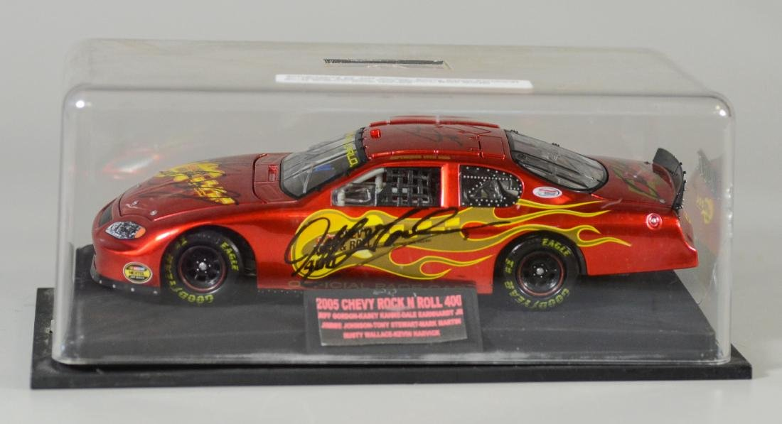 Autographed 2005 Chevy Rock N Roll 400 Race Car