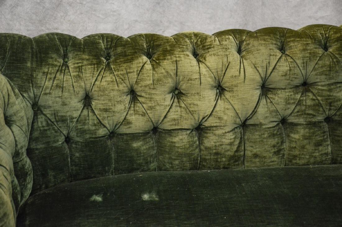 English Tufted Chesterfield Sofa att. Howard & Son - 2
