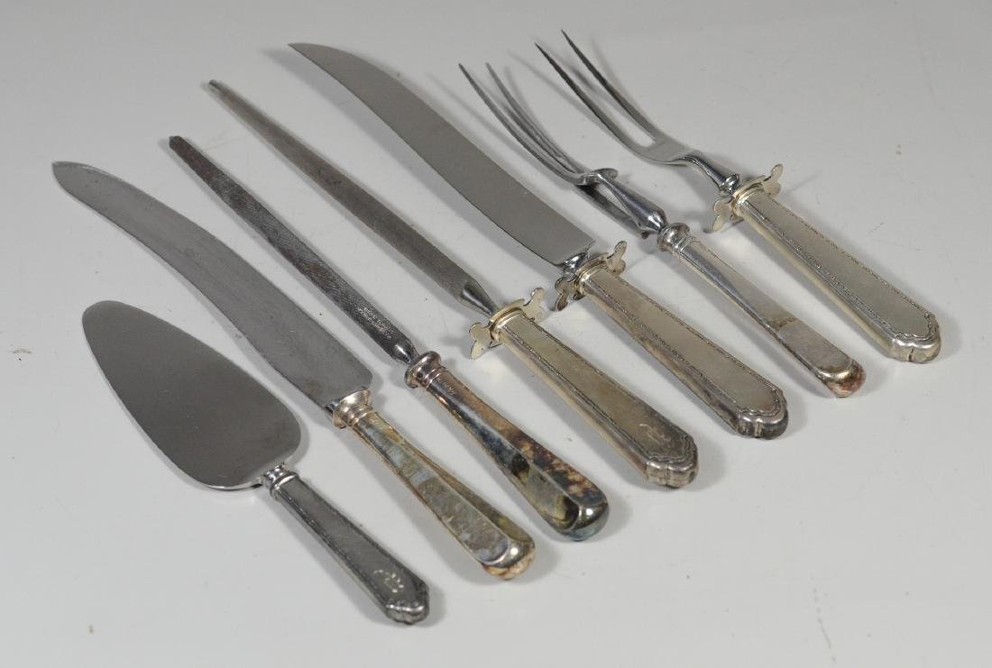 7 Sterling handled serving pieces